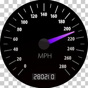 Car Speedometer Dashboard PNG