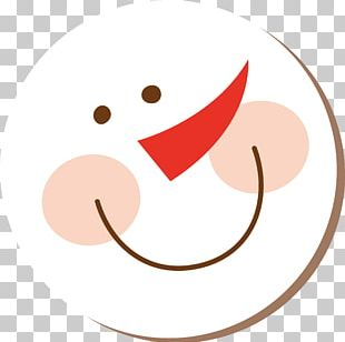 Lovely Snowman Christmas PNG