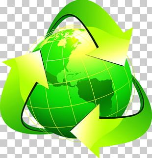 Earth Recycling Symbol Illustration PNG