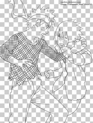 Line Art Sasuke Uchiha Drawing Naruto Shippuden: Naruto Vs. Sasuke PNG