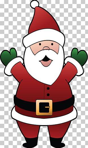 Santa Claus Christmas Day Character Drawing Christmas Ornament PNG
