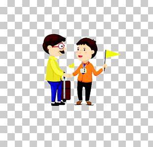 Package Tour Tour Guide Tourism Illustration PNG