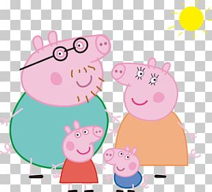 Daddy Pig Mummy Pig Domestic Pig Television Show Family PNG