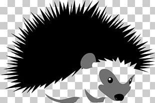 Hedgehog Stock Illustration Silhouette Illustration PNG