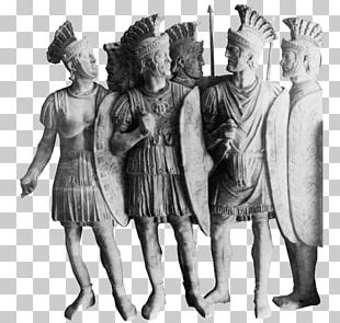 Roman Soldiers Group PNG