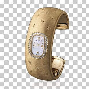 Buccellati Watch Bracelet Colored Gold PNG
