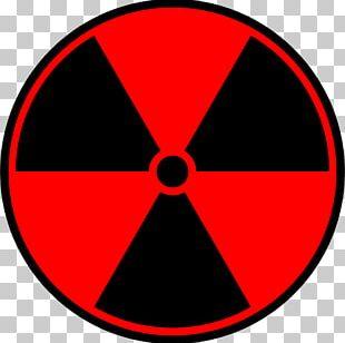 Radioactive Decay Radiation Hazard Symbol Sign PNG