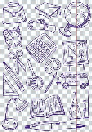 Doodle Drawing Education Illustration PNG