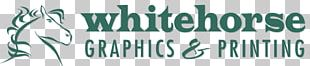 Whitehorse Graphics & Printing Business Logo PNG
