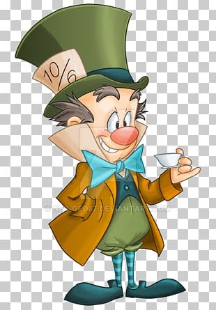 Mad Hatter King Candy Jabberwocky Character Fan Art PNG