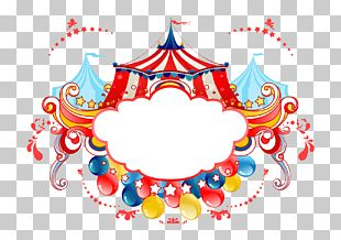Circus Poster Stock Photography PNG