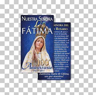 Our Lady Of Fátima Fátima Prayers Holy Card PNG
