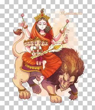 Parvati Skandamata Kali Navaratri Kartikeya PNG
