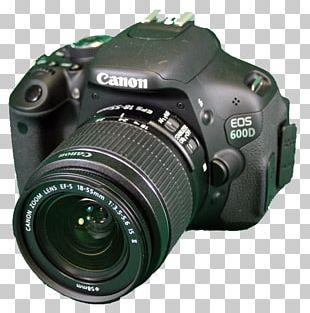 Digital SLR Canon EOS 600D Camera Lens Mirrorless Interchangeable-lens Camera Single-lens Reflex Camera PNG