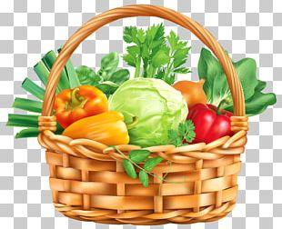 Veggie Burger Vegetable Basket Fruit PNG