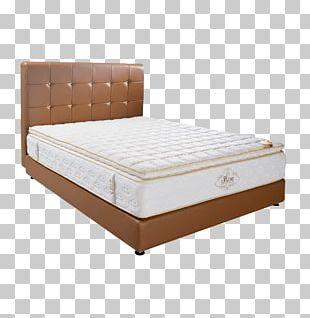 Bed Frame Mattress Box-spring Bedside Tables PNG