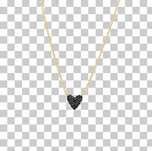 Locket Necklace Earring Gold Diamond PNG