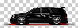 Tire Car Cadillac Escalade Alloy Wheel Automotive Lighting PNG