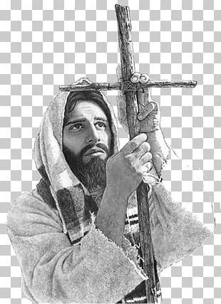 Jesus Crucifix Sermon On The Mount Crown Of Thorns Good Shepherd PNG