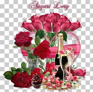 Garden Roses Flower Bouquet Birthday Cut Flowers Floral Design PNG