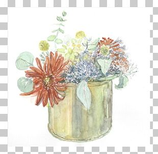 Floral Design Watercolor Painting Flower Paper PNG