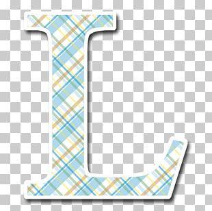 Letter Alphabet Tartan Initial PNG