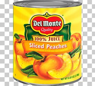 Fruit Cup Del Monte Foods Juice Peach Canning PNG