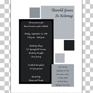 Wedding Invitation Paper Convite Graduation Ceremony Party PNG