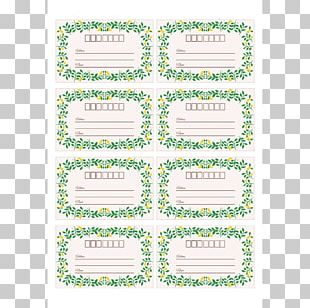 Label Template Decal Printing Mail PNG