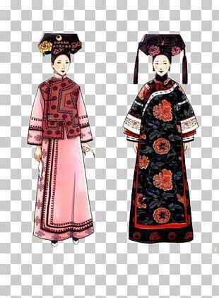 Cheongsam Designer Woman Skirt PNG