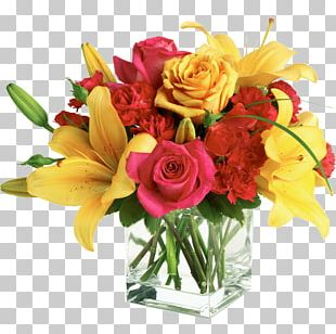 Garden Roses Floral Design Flower Bouquet Cut Flowers Teleflora PNG