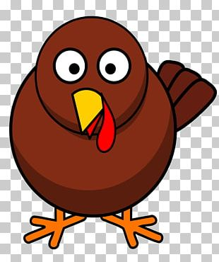 Turkey Cartoon Png Clipart Beak Bird Cartoon Chicken Christmas Free Png Download