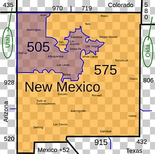 Area Code 505 Area Code 575 Telephone Numbering Plan Area Code 520 PNG