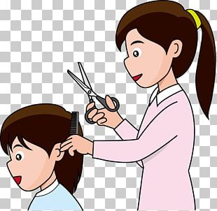 Hairstyle Beauty Parlour Cutting Hair PNG