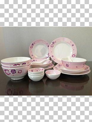 Porcelain Plate Bowl Tableware Saucer PNG