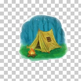 Tent Camping Campfire PNG