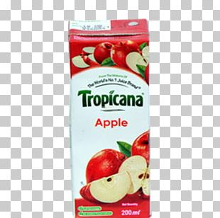 Apple Juice Tropicana Products Drink PNG