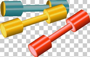 Dumbbell Physical Fitness Exercise Equipment PNG