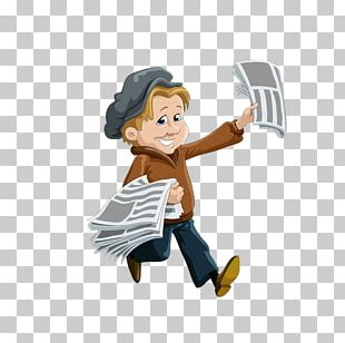 Newspaper Paperboy PNG