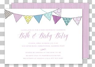 Wedding Invitation Party Baby Shower Paper PNG