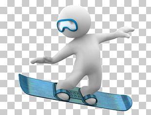 Snowboarding 3D Computer Graphics Skiing Art Gray PNG