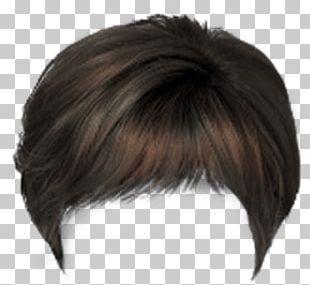 Wig Hairstyle Bangs Long Hair PNG