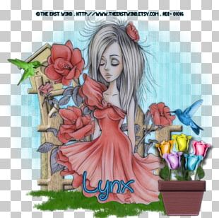 Illustration Cartoon Fairy Flowering Plant Fiction PNG