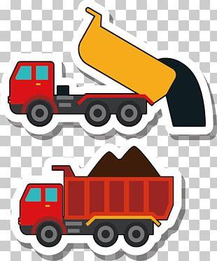 Car Dump Truck Dumper PNG
