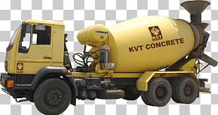 Cement Mixers Ready-mix Concrete Truck PNG