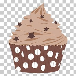 Cupcake Frosting & Icing Muffin Chocolate PNG