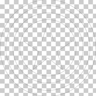 Circle Point Angle Symmetry Pattern PNG