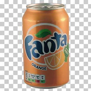Fanta Fizzy Drinks Coca-Cola Orange Drink Orange Soft Drink PNG
