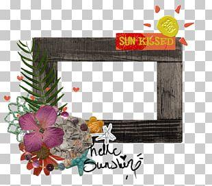 Floral Design Frames Flower Font PNG