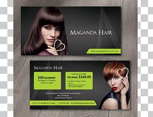 Hair Coloring Display Advertising Beauty Parlour Flyer PNG